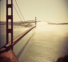 San Francisco Golden Gate Bridge Pillow Case by Hypedsn