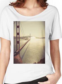 San Francisco Golden Gate Bridge T-Shirt Women's Relaxed Fit T-Shirt