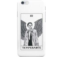 Temperance ~ Castiel Tarot Card iPhone Case/Skin