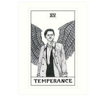 Temperance ~ Castiel Tarot Card Art Print