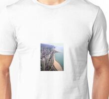 Looking Down On Chicago Unisex T-Shirt