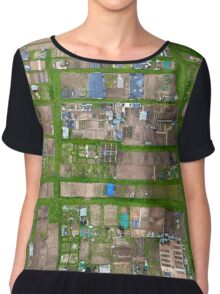Allotments From Above Chiffon Top