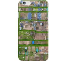 Allotments From Above iPhone Case/Skin