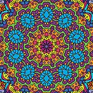 Psychedelic LSD Trip Ornament 0008 by Andrei Verner
