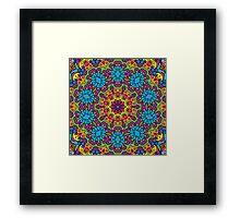 Psychedelic LSD Trip Ornament 0008 Framed Print