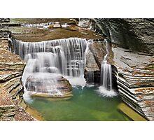 Cascade on Enfield Creek Photographic Print