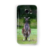 Photogenic Kangaroo with Joey in Pouch Samsung Galaxy Case/Skin