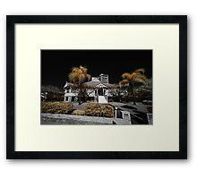 West end mansion Framed Print