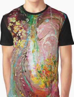 The Splash Of Life 23. The Tree of golden rain Graphic T-Shirt