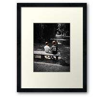 Tranquil Youth Framed Print