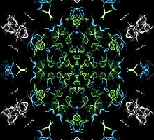 kaleidoscope silk design 3 by chloemease