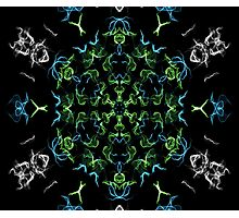 kaleidoscope silk design 3 Photographic Print