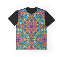 Psychedelic LSD Trip Ornament 0004 Graphic T-Shirt