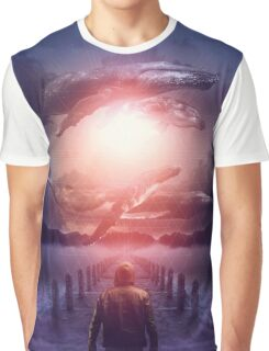 The Space Between Dreams and Reality Graphic T-Shirt