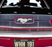 Mustang Vintage car Sticker