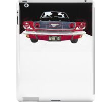 Mustang Vintage car iPad Case/Skin