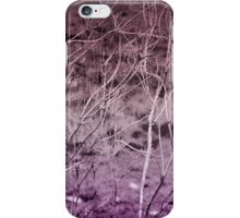 Where Are We Now? In Deep Purple iPhone Case/Skin