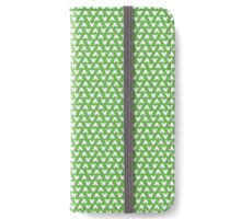 Mickey Polka Dots in Tinkerbell Green iPhone Wallet/Case/Skin
