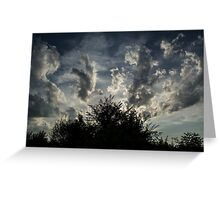 Paradise Sky Greeting Card