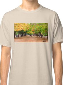 Scenery at the Tiger Temple in Kanchanaburi, Thailand Classic T-Shirt