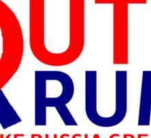 Putin Trump Make Russia Great Again Sticker