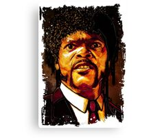 Jules Winnfield - Pulp Ficton Canvas Print