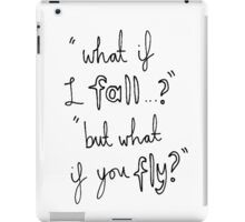Fall and Fly iPad Case/Skin