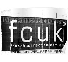 Fcuk Poster