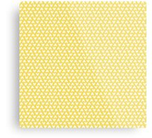 Mickey Polka Dots in Belle Yellow Metal Print