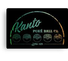 Kanto Poké Ball Company Canvas Print