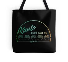 Green Kanto Poké Ball Company Tote Bag