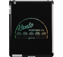 Kanto Poké Ball Company iPad Case/Skin