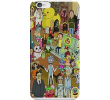 Rick and Morty - Where's Rick  iPhone Case/Skin
