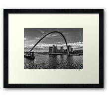 Gateshead Millenium Bridge Framed Print