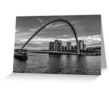 Gateshead Millenium Bridge Greeting Card