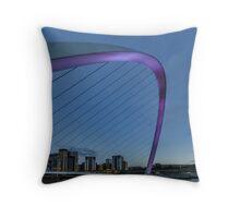 Millenium Pink Throw Pillow