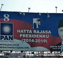 hatta rajasa banner by bayu harsa