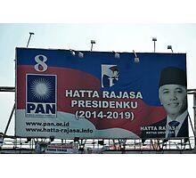 hatta rajasa banner Photographic Print