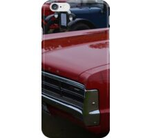 Classic Plymouth Grille iPhone Case/Skin