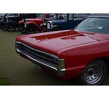 Classic Plymouth Grille Photographic Print