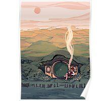 A Hobbit House Poster