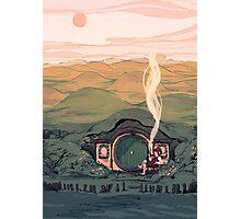 A Hobbit House Photographic Print
