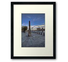 Newcastle Quayside Framed Print