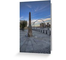Newcastle Quayside Greeting Card