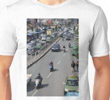 busy traffic in bandung Unisex T-Shirt