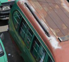 angkot-public transportation in bandung Sticker