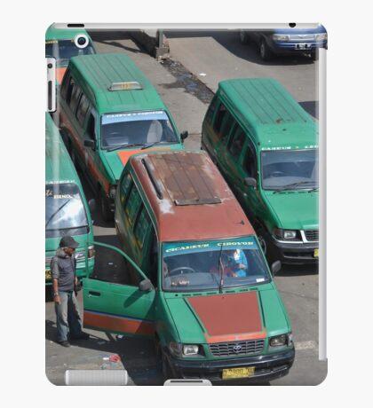 angkot-public transportation in bandung iPad Case/Skin