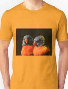 Rainbow lorikeet Unisex T-Shirt