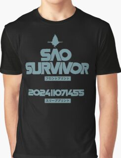 <SWORD ART ONLINE> SAO Survivor Graphic T-Shirt