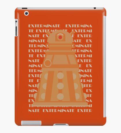 Exterminate Orange iPad Case/Skin